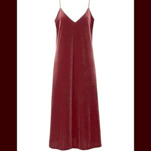 ce6b0fc2953f Uniqlo Dresses | Nwt Velour Velvet Camisole Dress Rose M | Poshmark